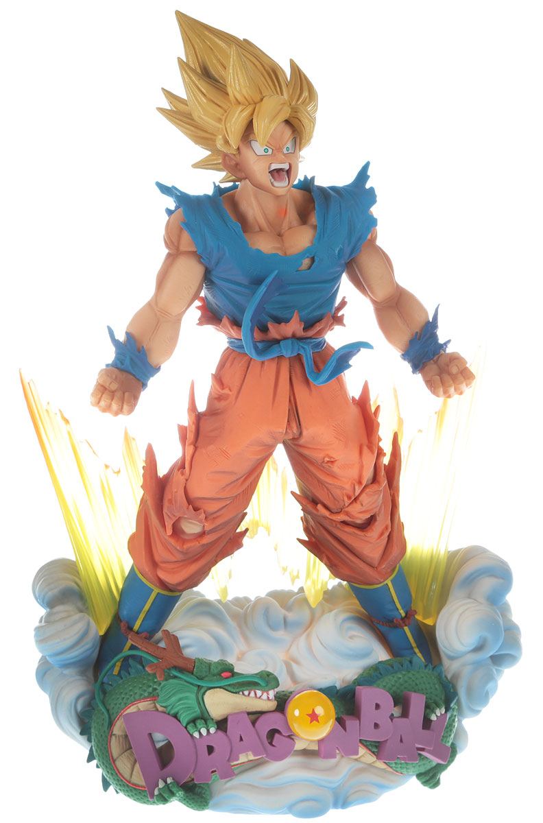 Bandai Фигурка Dragon Ball Z Super Master Stars Diorama The Son Goku dragon ball z super saiyan 10cm goku trunks pvc anime garage kit model children collectible action figure toys boy girl gift dbz