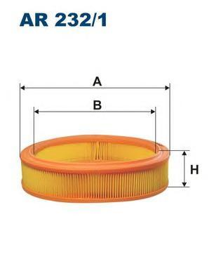 Фильтр воздушный Filtron AR2321 цены