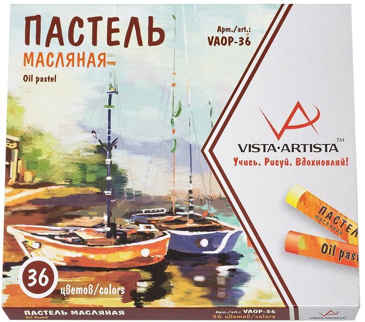Vista-Artista Набор масляной пастели 36 цветов VAOP-36