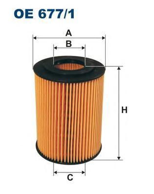 Фильтр масляный Filtron OE6771 цена