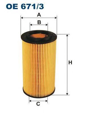 Фильтр масляный Filtron OE6713