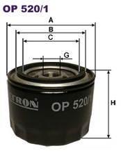 Масляный фильтр Filtron OP5201 ручка кпп azard lada ваз 2108 99 материал натуральная кожа