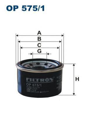 Фильтр масляный Filtron OP5751 все цены