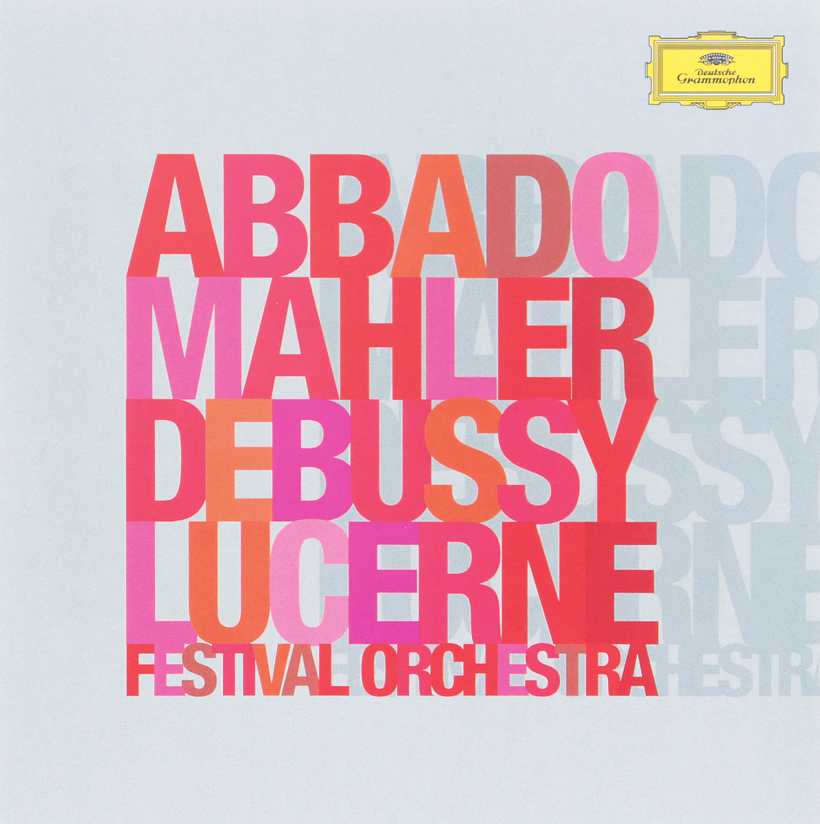 Mahler - Debussy, Abbado, Lucerne Festival Orchestra (2 CD) mahler debussy abbado lucerne festival orchestra 2 cd