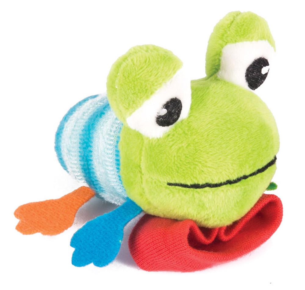 Happy Snail Игрушка-погремушка на руку Лягушонок Квака цена 2017