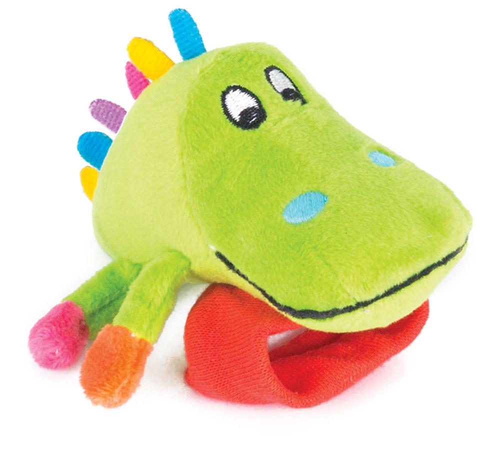 Happy Snail Игрушка-погремушка на руку Крокодил Кроко цена 2017