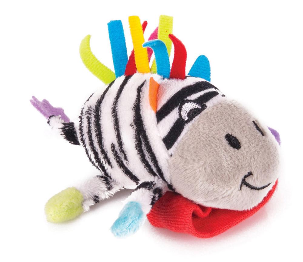 Happy Snail Игрушка-погремушка на руку Зебра Фру-Фру цена 2017