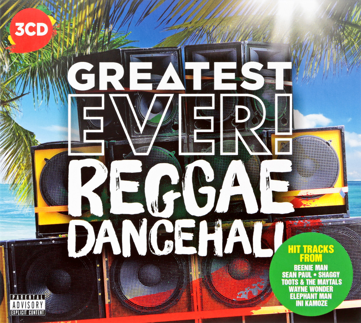 Greatest Ever Reggae Dancehall (3 CD) все цены