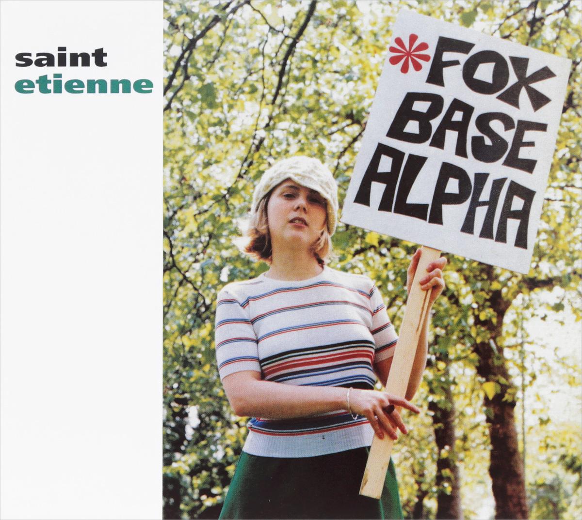 Антуан де Сент-Этьен Saint Etienne. Foxbase ALPha. 25Th Anniversary Edition (2 CD) недорго, оригинальная цена