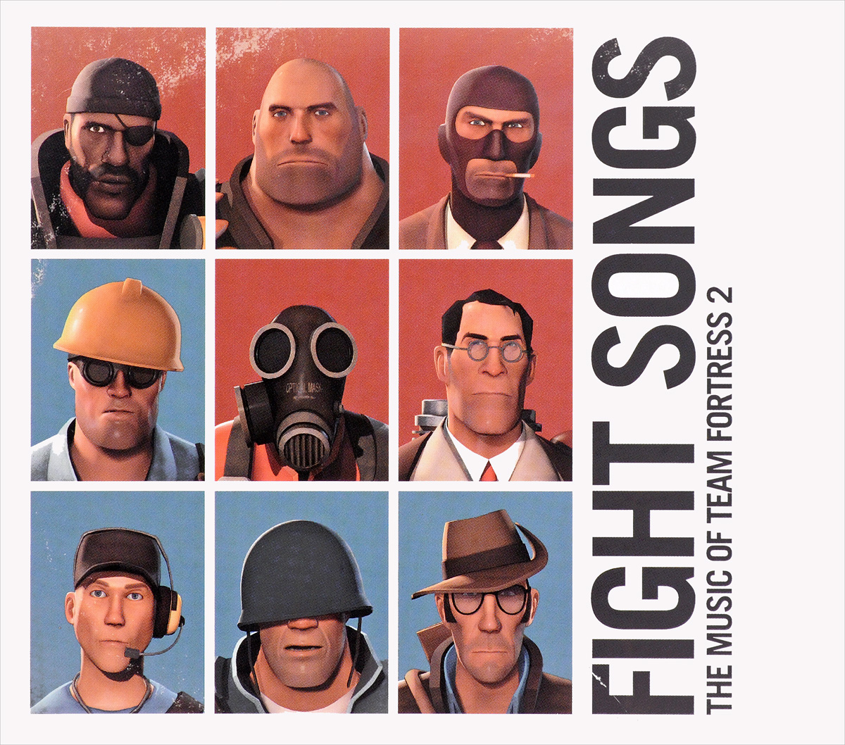 Valve Studio Orchestra. Fight Songs: The Music Of Team Fortress (2 CD) valve studio orchestra the dota 2 official soundtrack lp