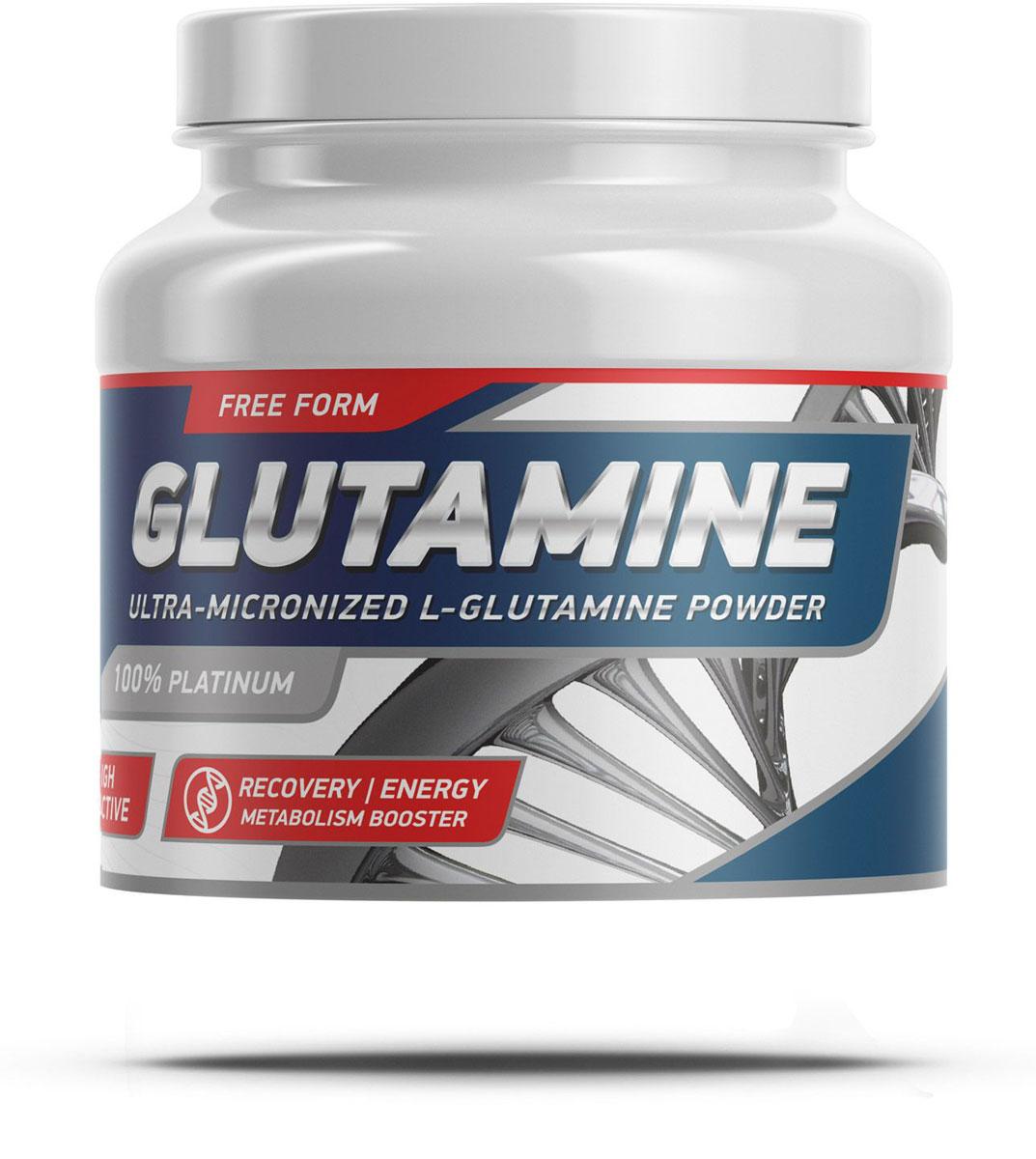 Аминокислоты Geneticlab Nutrition Glutamine Powder, без вкуса, 500 г аминокислоты geneticlab nutrition glutamine powder без вкуса 500 г