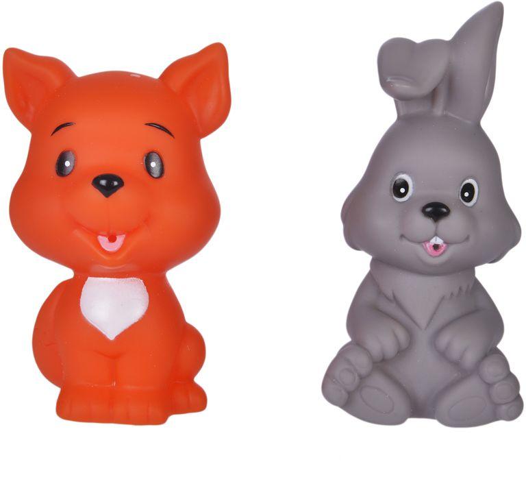 Жирафики Набор игрушек для ванной Лисенок и зайчонок жирафики набор игрушек для ванной лошадка и свинка