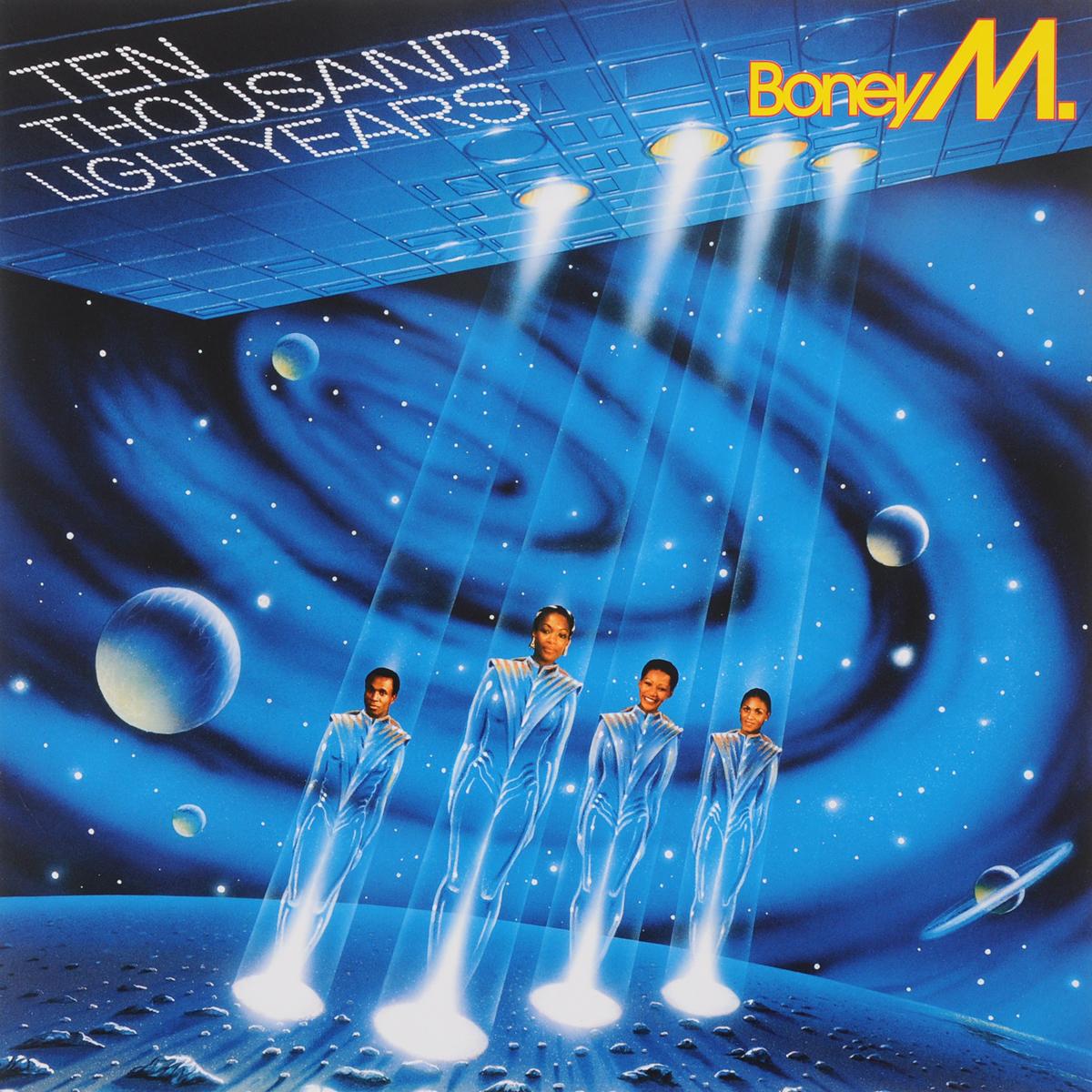 Boney M Boney M. 10.000 Lightyears (LP) boney m nightflight to venus