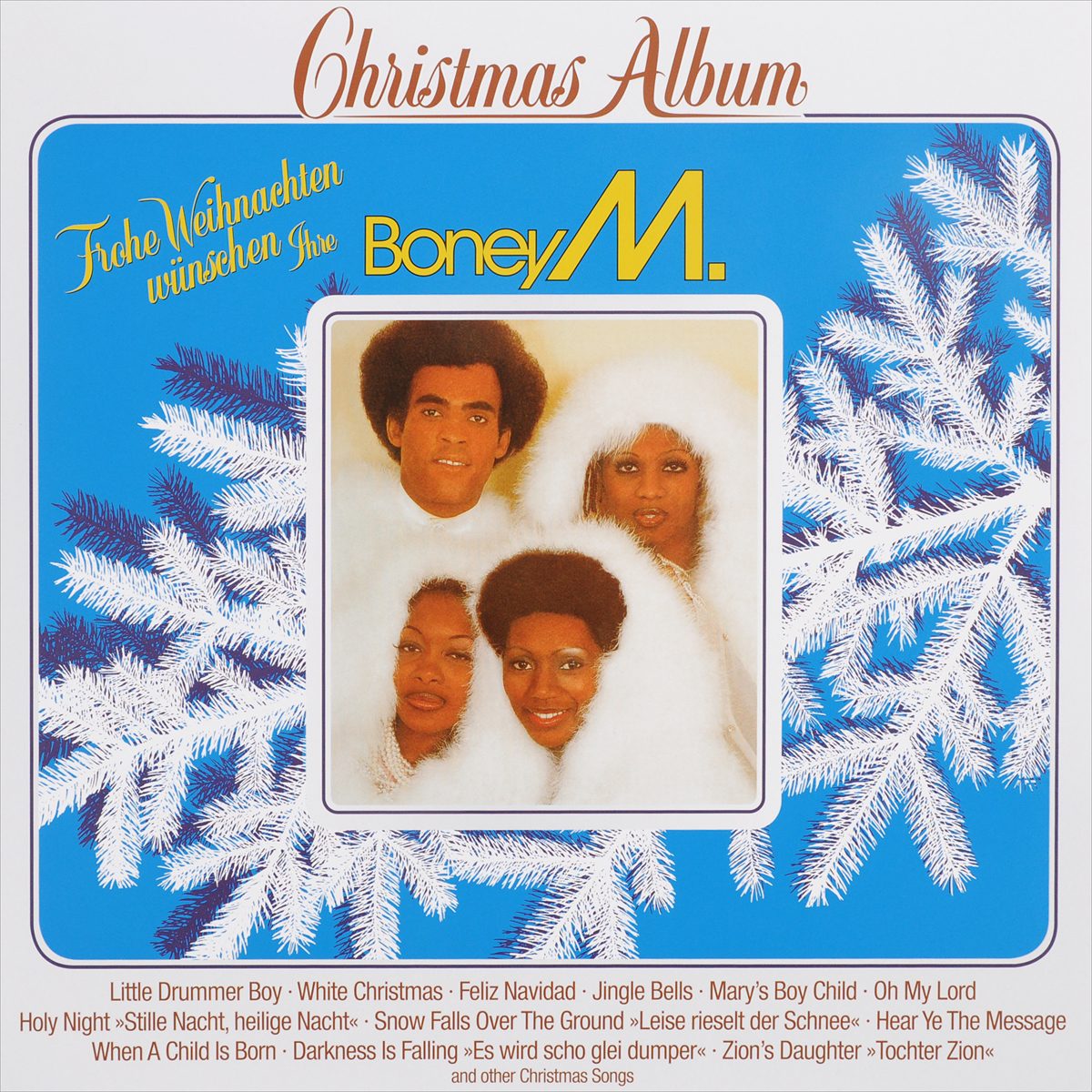 Boney M Boney M. Christmas With Boney M. (LP) boney m boney m nightflight to venus