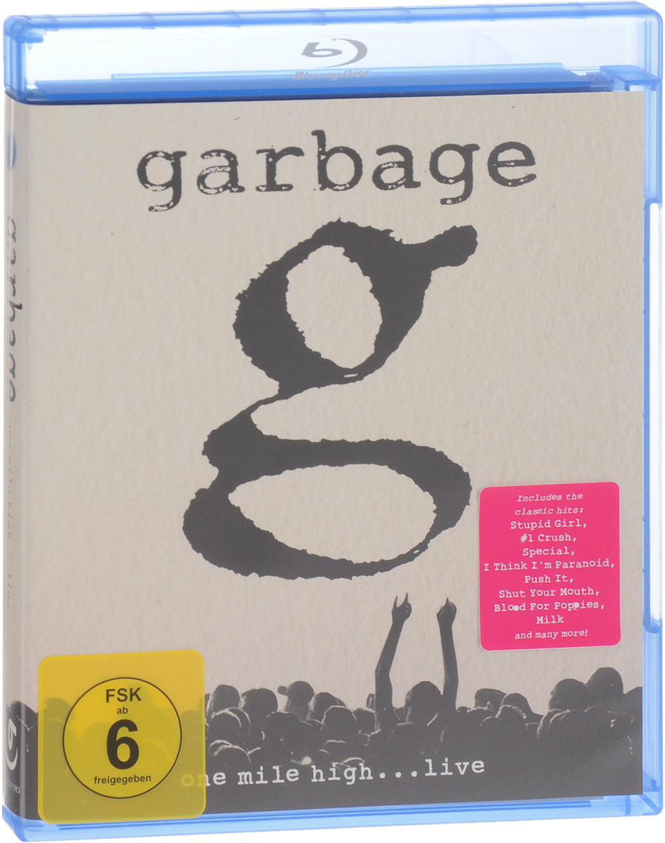Garbage: One Mile High…Live (Blu-ray) tvxq special live tour t1st0ry in seoul kpop album