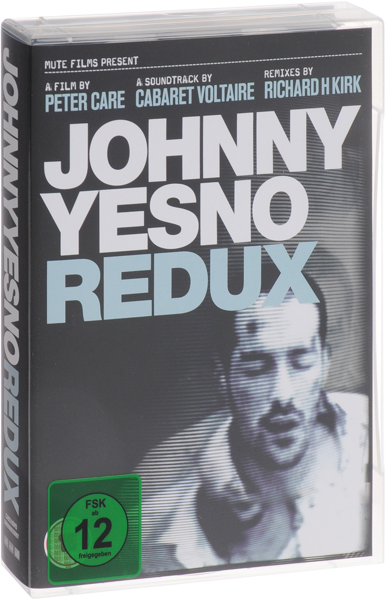 Peter Care, Cabaret Voltaire, Richard H. Kirk: Johnny Yesno: Redux (2 DVD + 2 CD) cabaret voltaire johnny yesno the original soundtrack from the motion picture