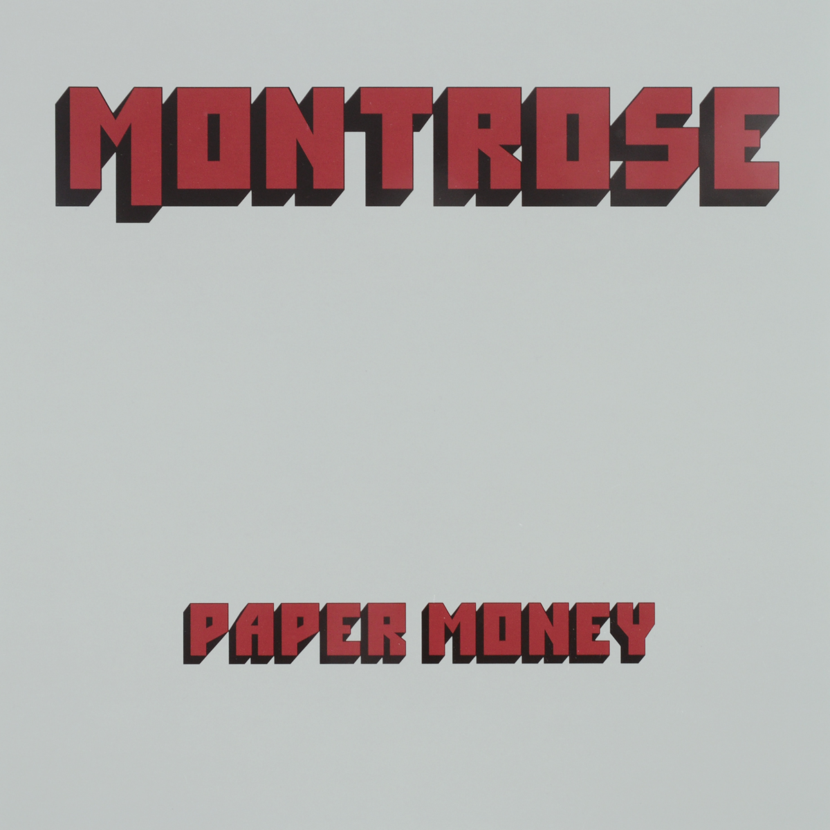 Montrose Montrose. Paper Money (2 LP) montrose montrose montrose 2 lp 180 gr