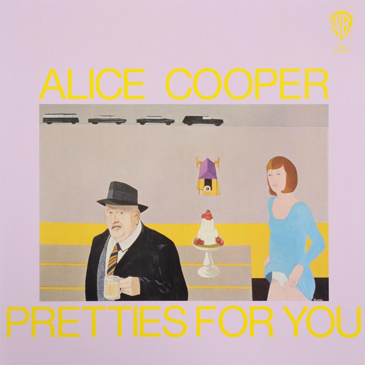 Элис Купер Alice Cooper. Pretties For You (LP) элис купер alice cooper dada