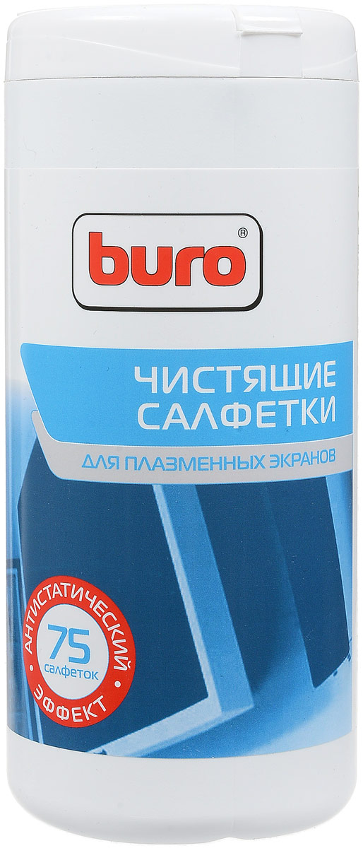 Buro BU-Tpsm чистящие салфетки для плазменных экранов, 75 шт