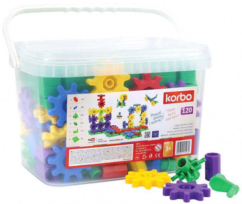 Korbo Пластиковый конструктор 120 элементов