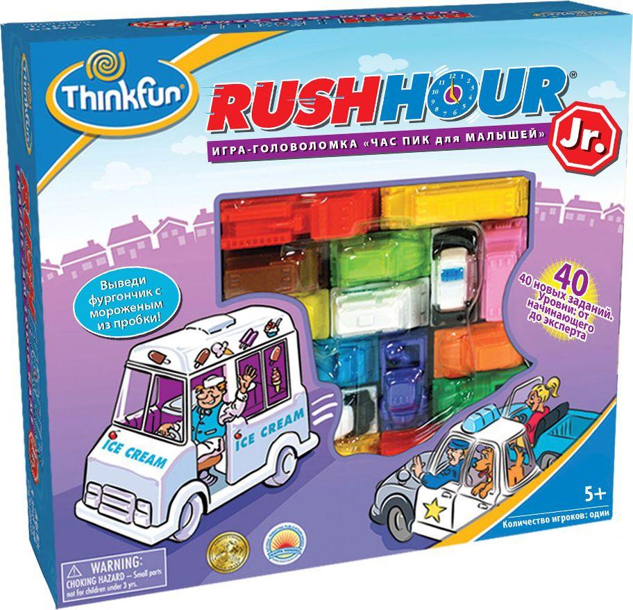 Thinkfun Головоломка Час пик для малышей игра настольная thinkfun час пик для малышей