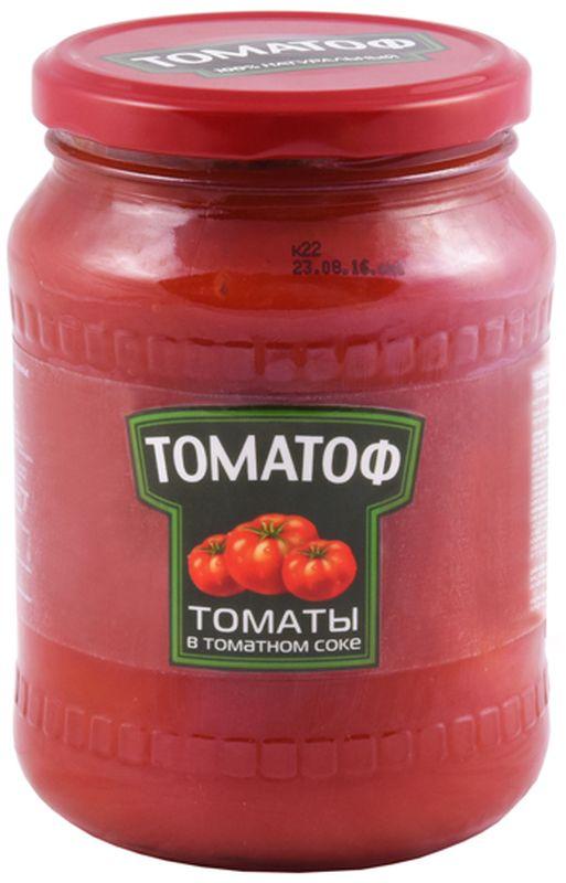 цены на Томатоф томаты в томатном соке, 720 мл  в интернет-магазинах