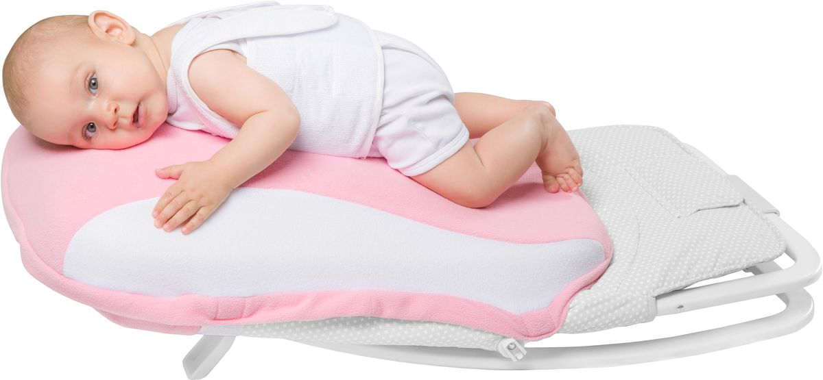 Dolce Bambino Подушка-матрас Dolce Pad цвет розовый 65 х 38 х 18 см