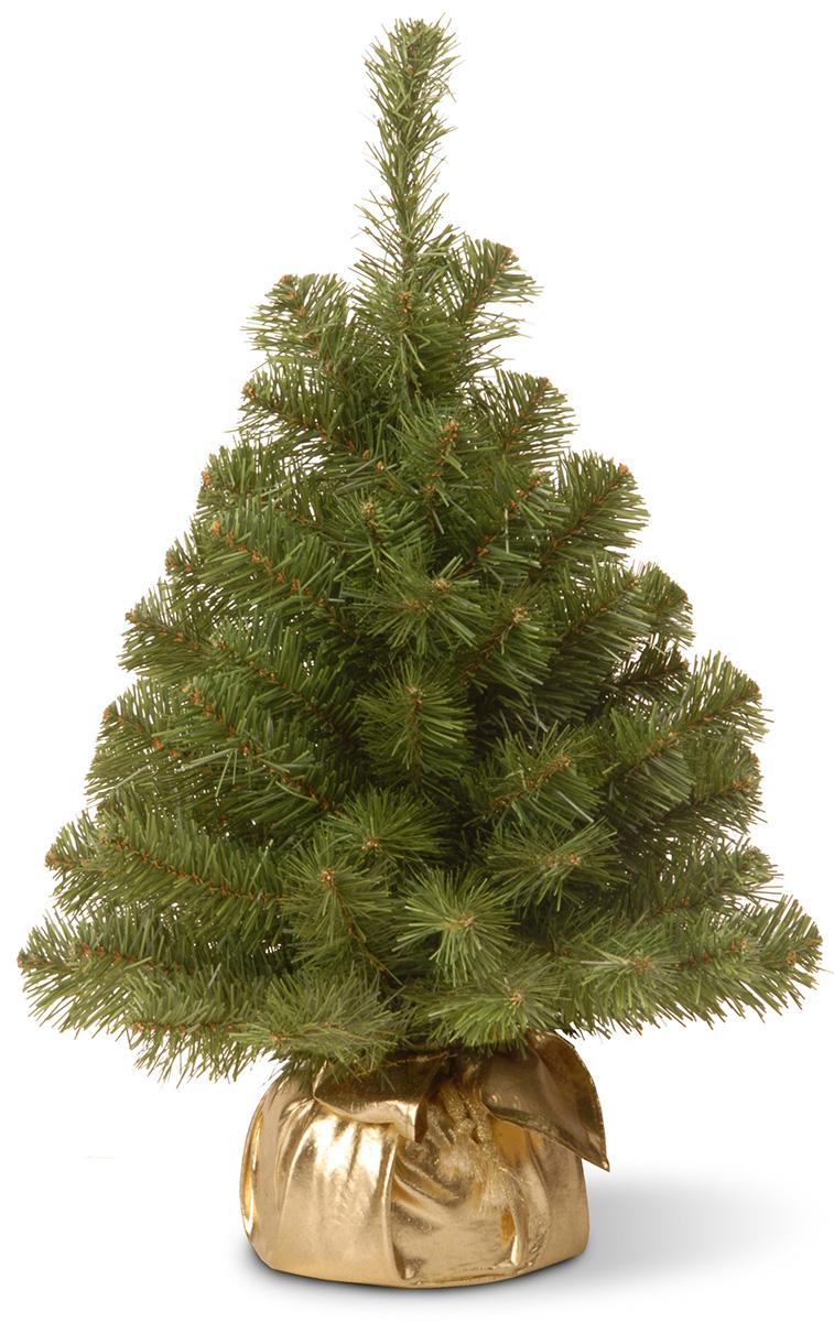 Ель искусственная National Tree Company New Noble Spruce Tree, настольная, в мешочке, высота 61 см ель искусственная national tree company poly asbury высота 183 см 31hpeas60