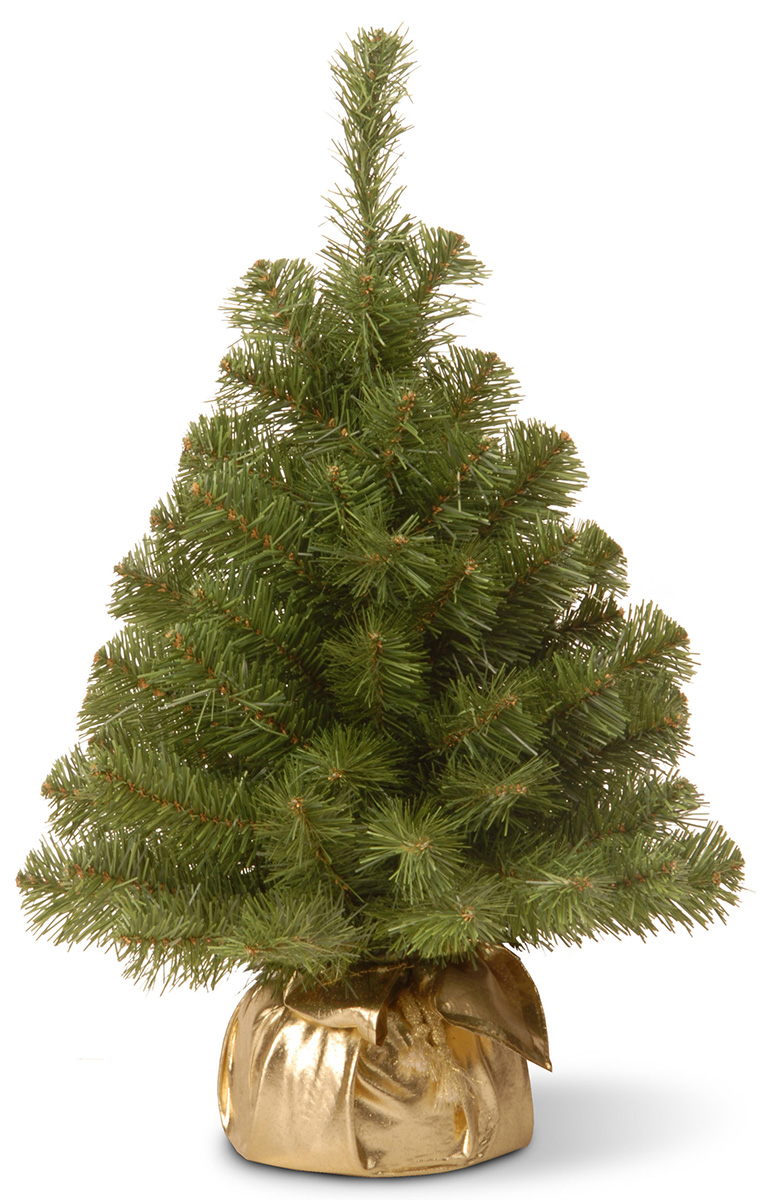 Ель искусственная National Tree Company New Noble Spruce Tree, напольная, в мешочке, высота 91 см ель искусственная national tree company poly asbury высота 183 см 31hpeas60
