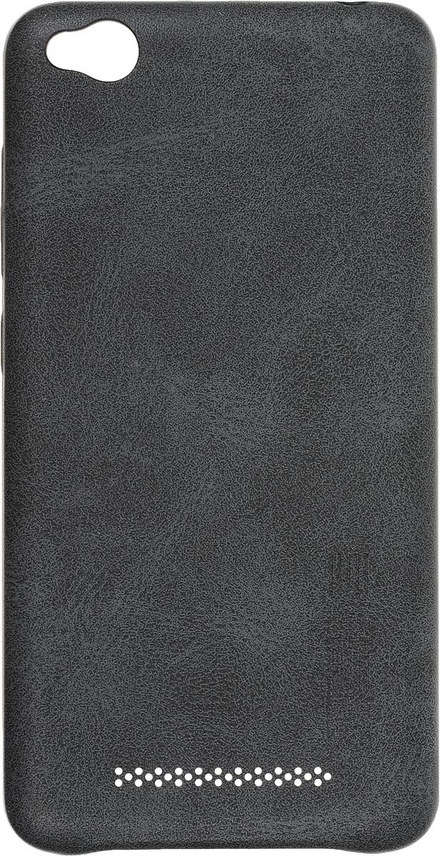 Interstep Is Silk-Case чехол для Xiaomi RedMi 4A, Grey leather case colorful flip cover for xiaomi redmi 4a white