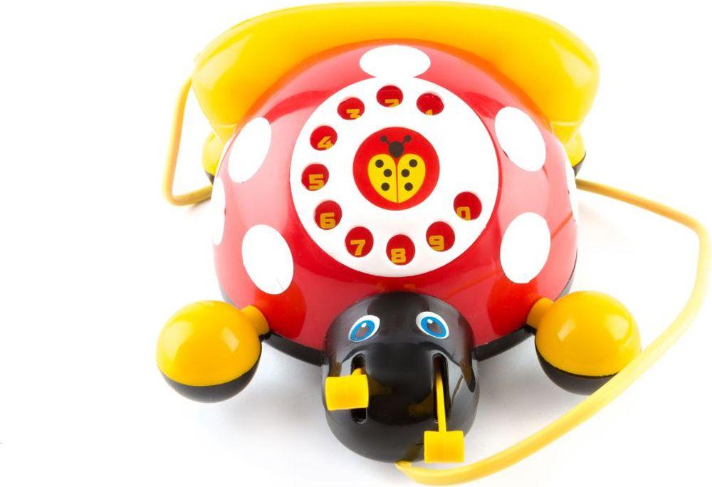 Пластмастер Игрушка-каталка Божья коровка пластмастер игрушка каталка мотоцикл