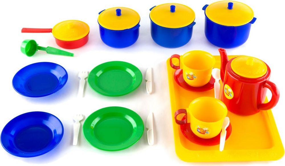 Пластмастер Большой игровой набор для кукол Хозяюшка игровой набор для девочки плэйдорадо хозяюшка