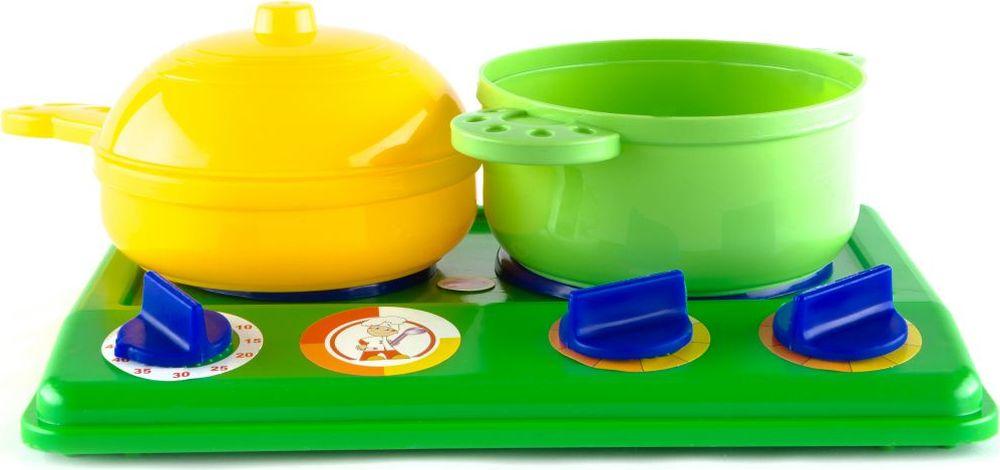 Пластмастер Игровой набор с плитой