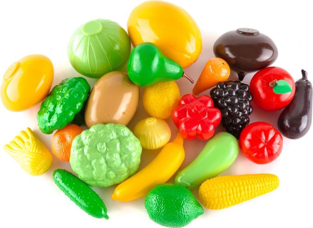 Пластмастер Игровой набор Овощи фрукты большой игнатова а с фрукты и овощи