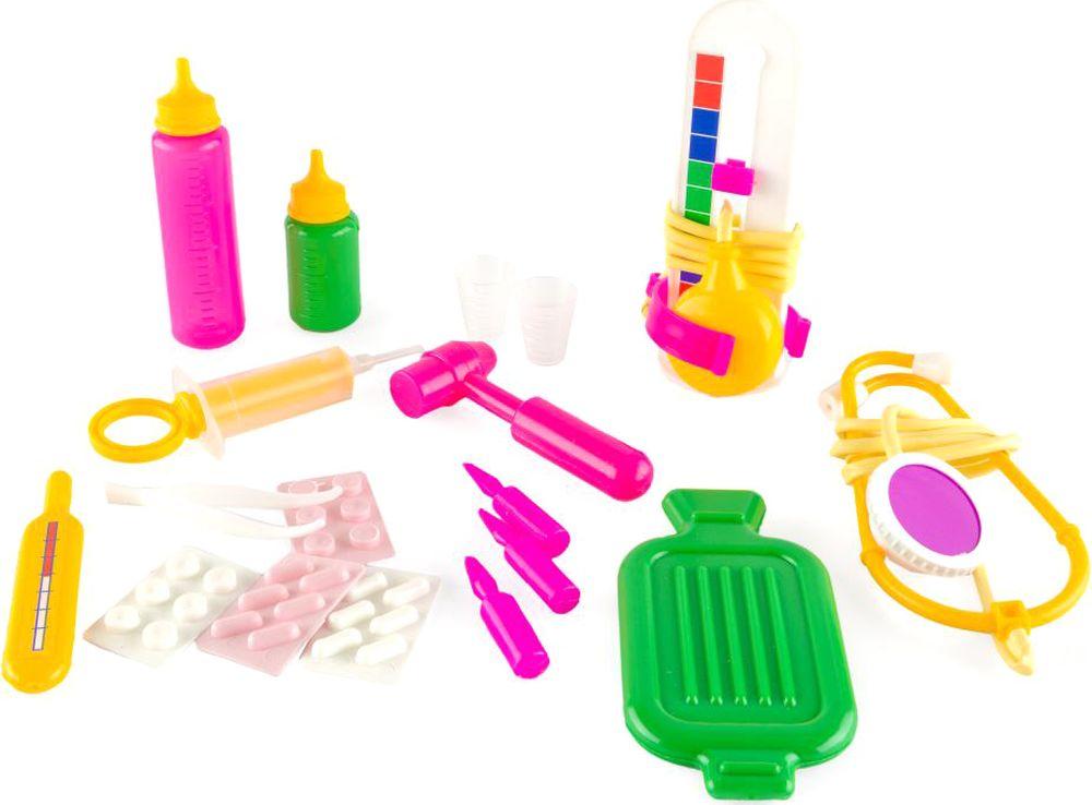 Пластмастер Игровой набор Маленький доктор набор маленький доктор 10 предм
