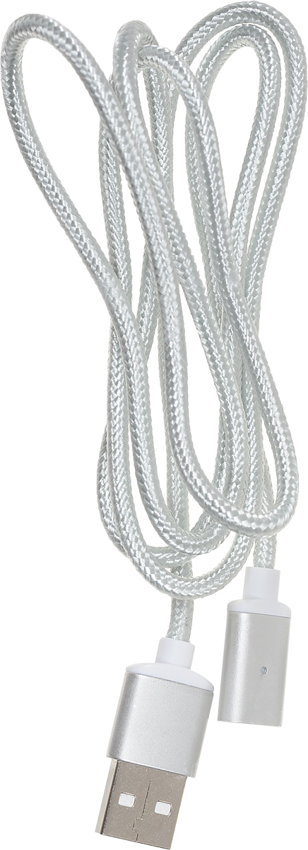 Red Line Magnetic, Silver магнитный дата-кабель USB-USB Type-C/Lightning/microUSB red line magnetic silver магнитный дата кабель usb usb type c lightning microusb