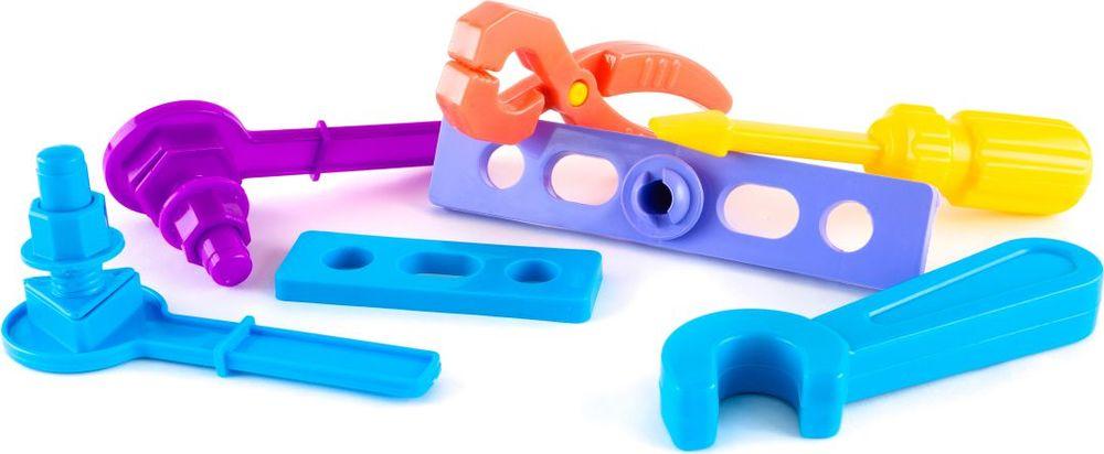 Пластмастер Игровой набор Мой первый инструмент набор развивающий для ребенка crayola мой первый набор печатей