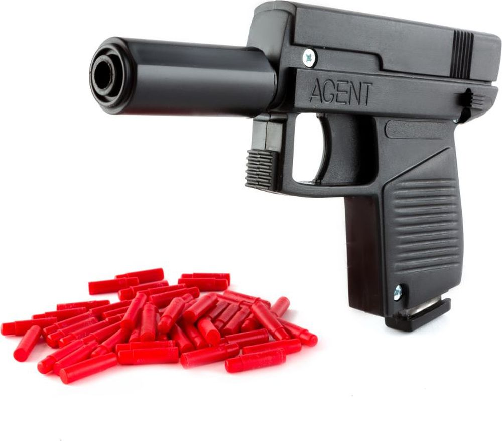 Пластмастер Пистолет Агент пластмастер пистолет с шарами в ассортименте