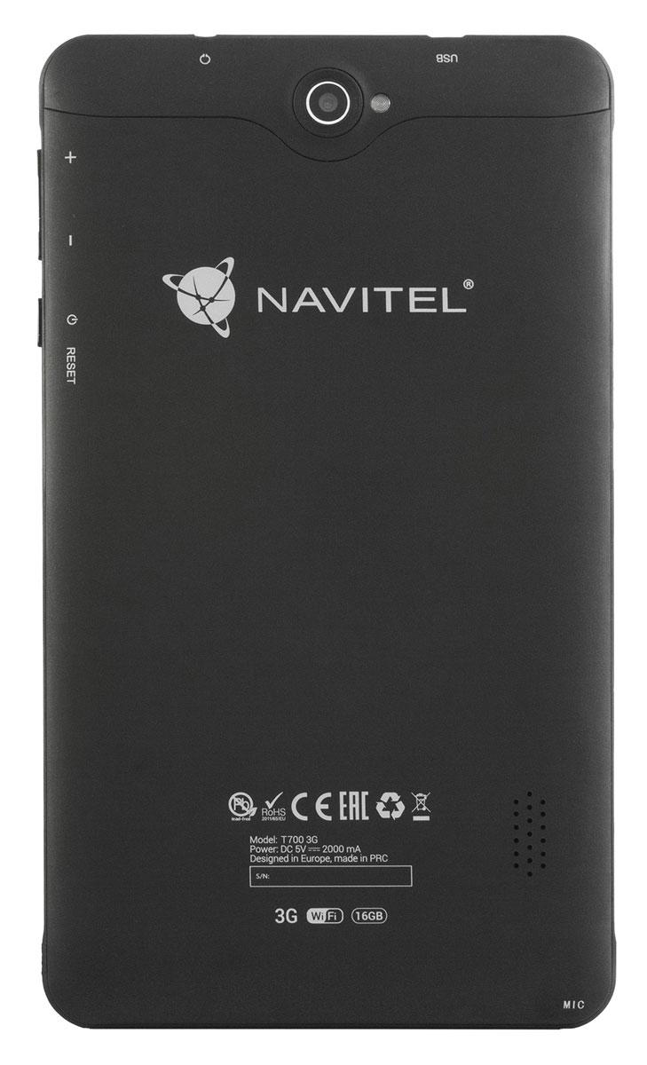 Планшет Navitel T700 3G, 16 ГБ, черный Navitel