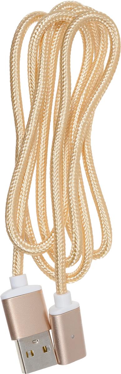 Red Line Magnetic, Gold магнитный дата-кабель USB-Lightning red line magnetic silver магнитный дата кабель usb usb type c lightning microusb
