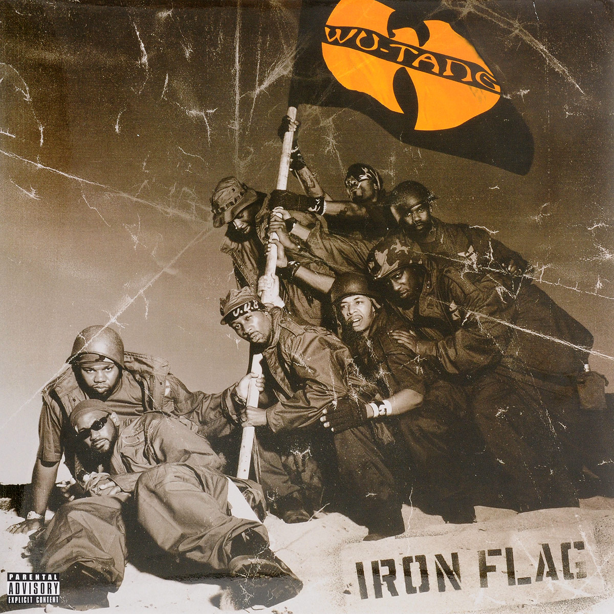 Wu-Tang Clan Wu-Tang Clan. Iron Flag wu tang clan wu tang clan legend of the wu tang greatest hits 2 lp