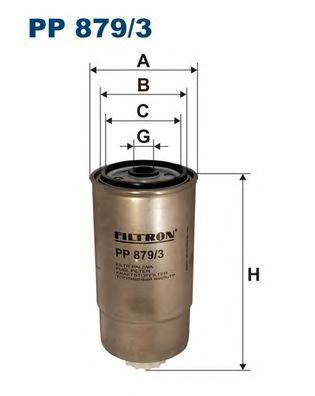 Фильтр топливный IVECO DAILY Iveco Daily/Grinta IV топливный фильтр filtron pp8371