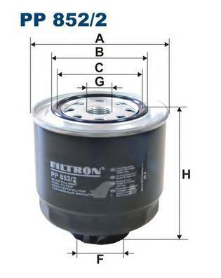 Фильтр топливный Mitsubishi L200 Mitsubishi L200 топливный фильтр filtron pp8371