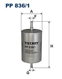 Топливный фильтр Filtron PP8361 цена