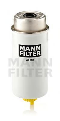 Фильтр топливный Mann-Filter WK8105 фильтр топливный mann filter wk1149