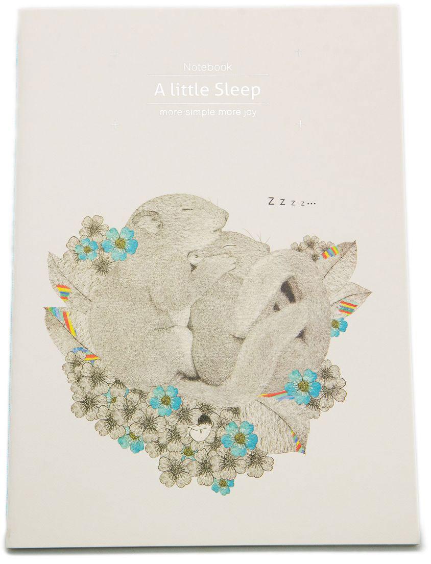 Еж-стайл Тетрадь A Little Sleep Любовь в линейку 38 листов еж стайл закладка винтаж ключ и замок