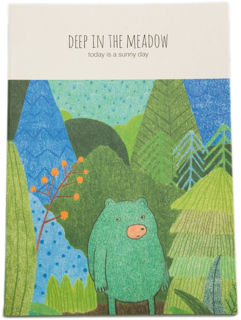 Еж-стайл Тетрадь Deep In The Meadow Миша в линейку 38 листов еж стайл закладка винтаж ключ и замок