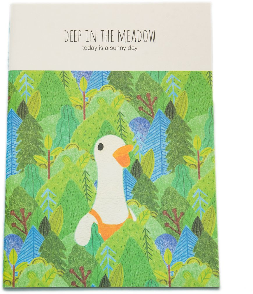Еж-стайл Тетрадь Deep In The Meadow Гусь 38 листов в линейку еж стайл тетрадь deep in the meadow гусь 38 листов в линейку