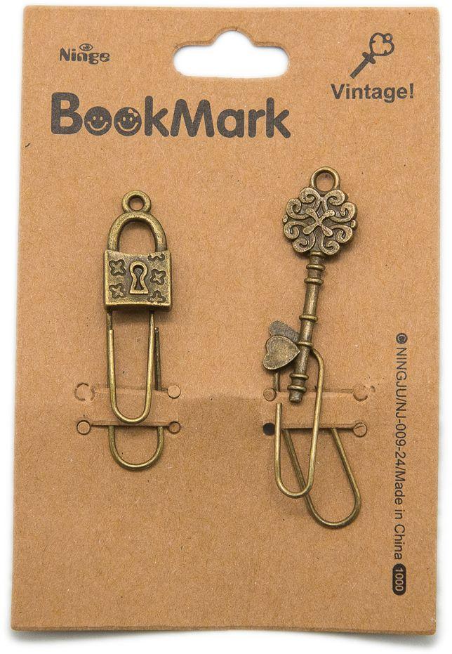 Еж-стайл Закладка Винтаж Ключ и замок еж стайл закладка винтаж ключ и замок