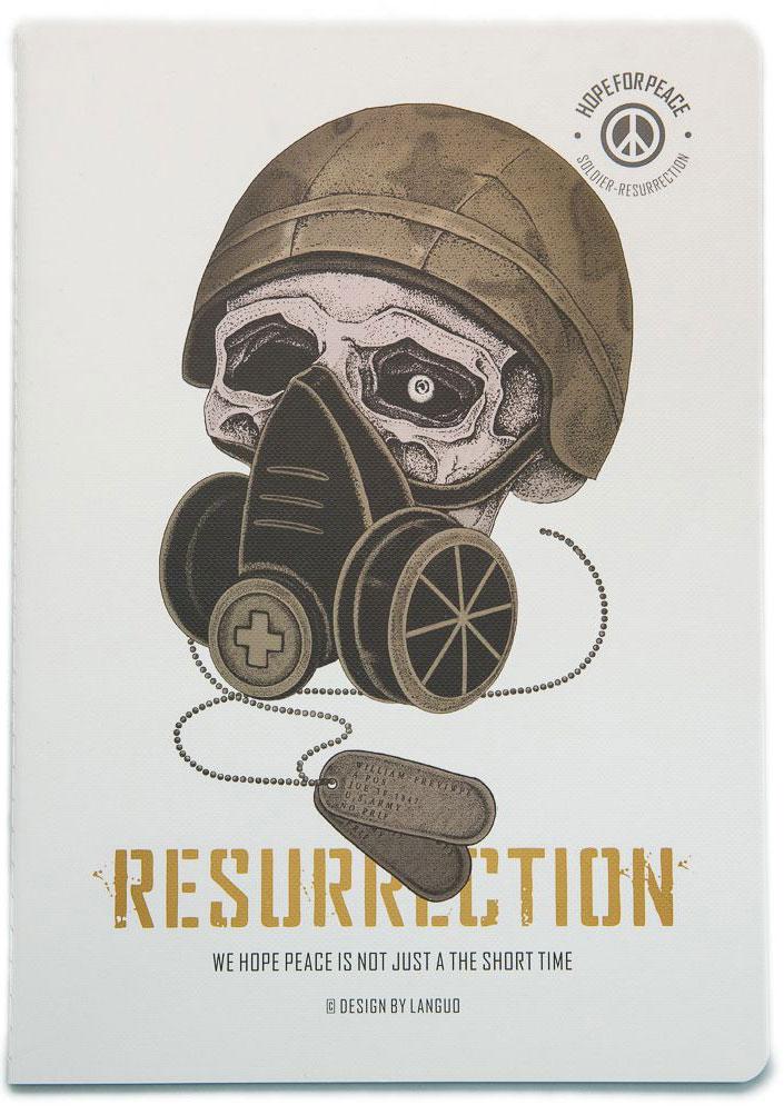 Еж-стайл Тетрадь Resurrection Пехота в линейку 44 листа A5 еж стайл тетрадь supermiao 2 batman a5 38 листов в линейку